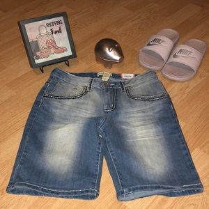 3 for $20 Mudd Girls Jean Shorts.